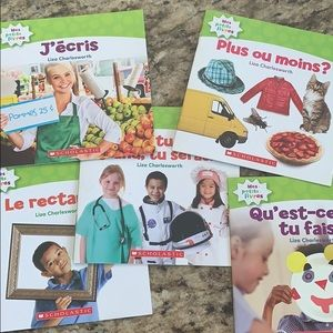 Other - Scholastic French books